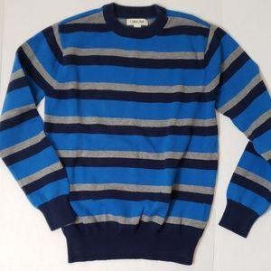 Boys L (12-14) Cherokee Striped Sweater